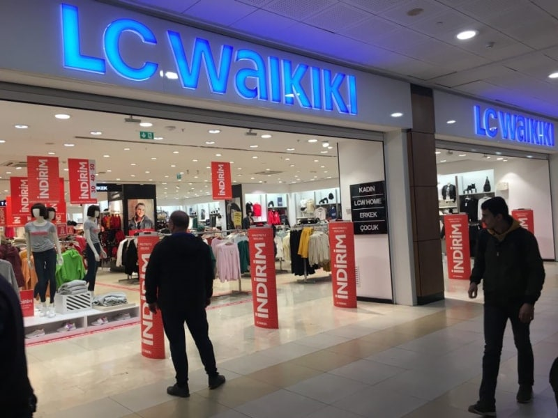 Магазин одежды в Измире