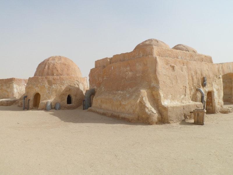 Декорации к фильму Звездный войны в Тунисе