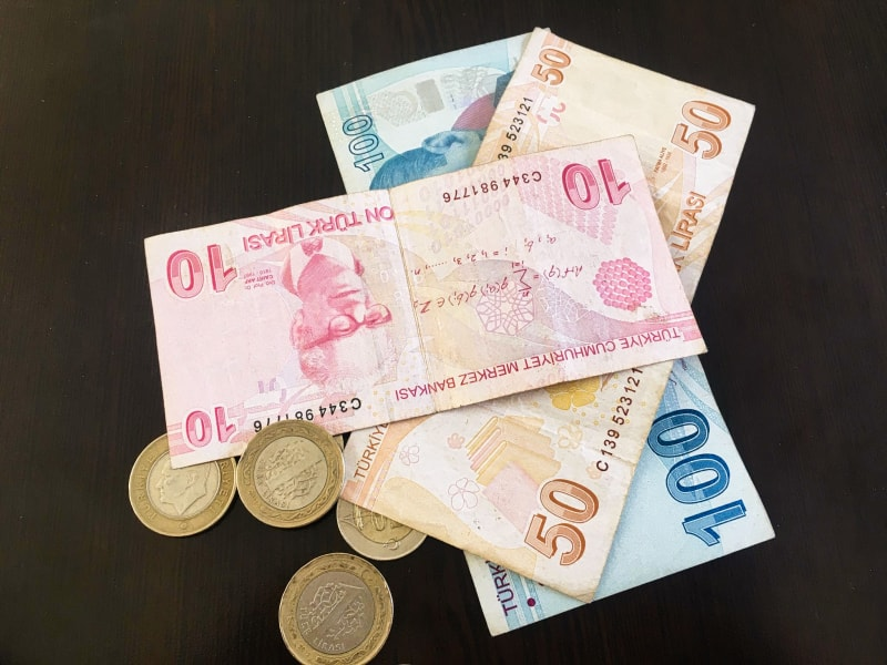 С какой валютой ехать в Турцию – Турецкие лиры: банкноты и монеты.