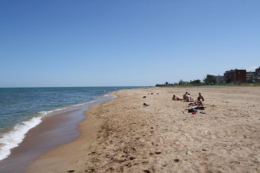 Пляжи Дербента одни из лучших в России