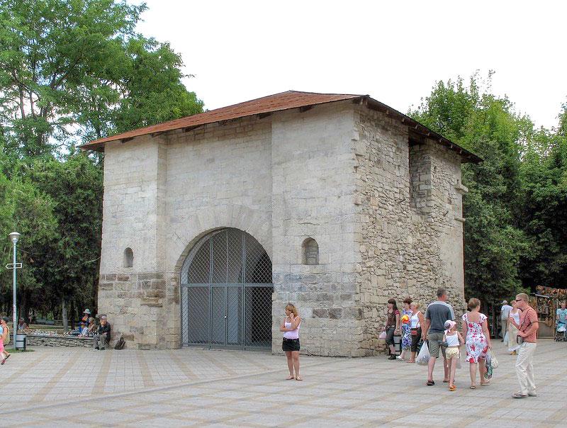 Русские ворота в Анапе Исторические достопримечательности Краснодарского края