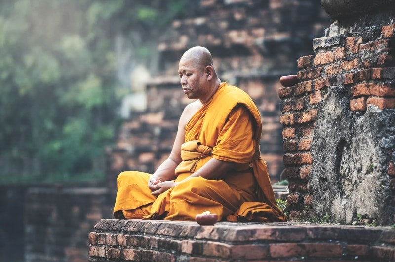 Монах–буддист
