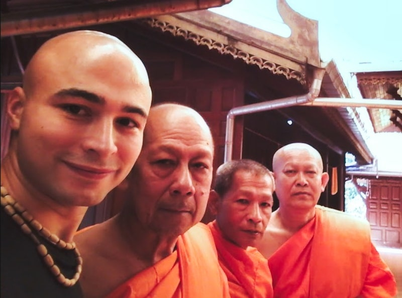 Моя жизнь в буддистском храме