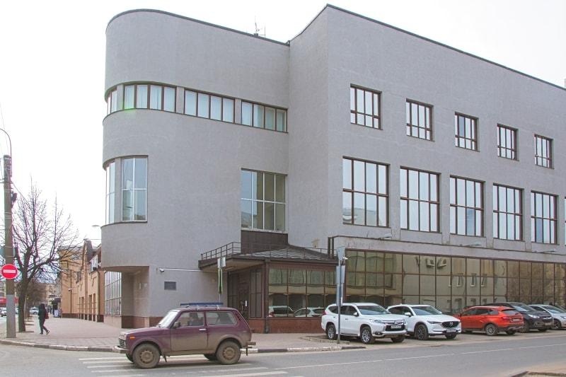 Здание Ивсельбанка в Иванове