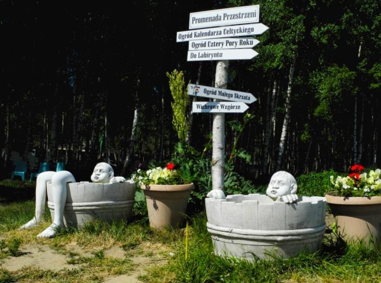 Сады Польши – скульптуры