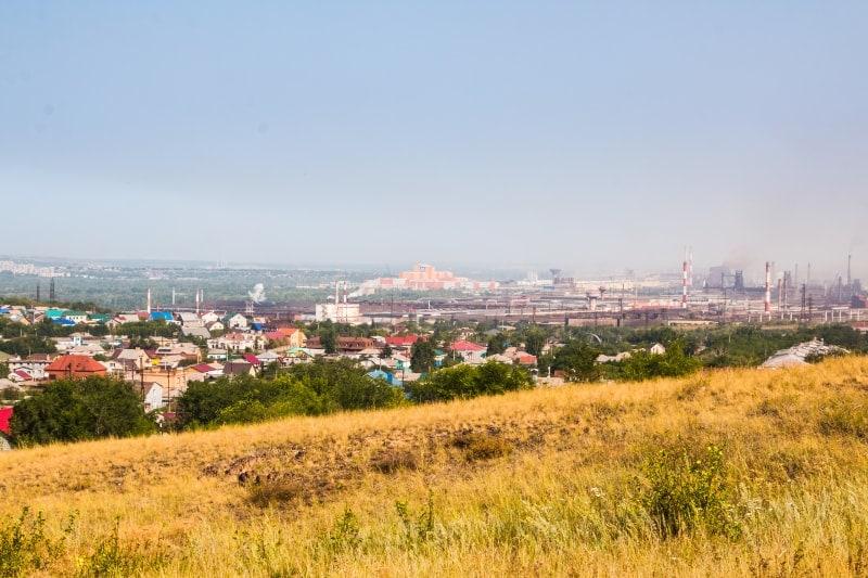 Вид на Магнитогорск