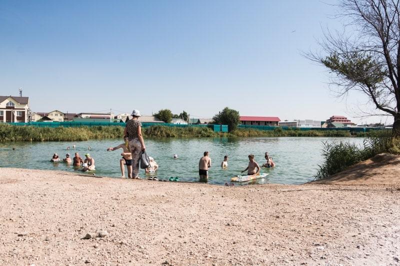 Соленые озера в Соль-Илецке