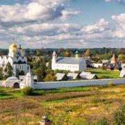Суздаль. Вид на Покровский монастырь