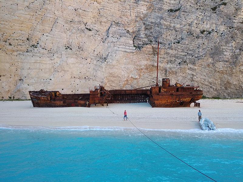 Останки корабля в Наваджо