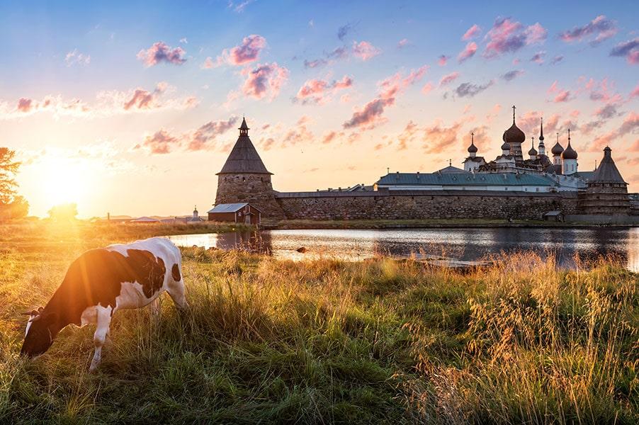Рассвет на Соловках