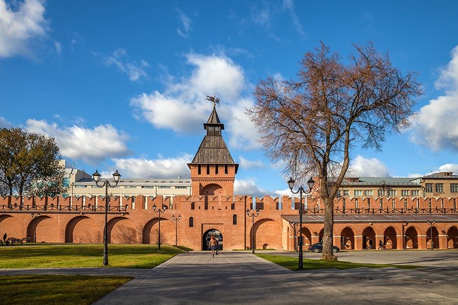 Пятницкие ворота Тульского кремля