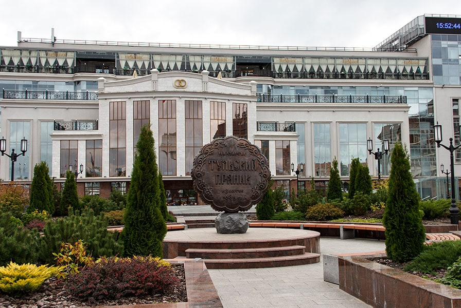 Памятник тульскому прянику