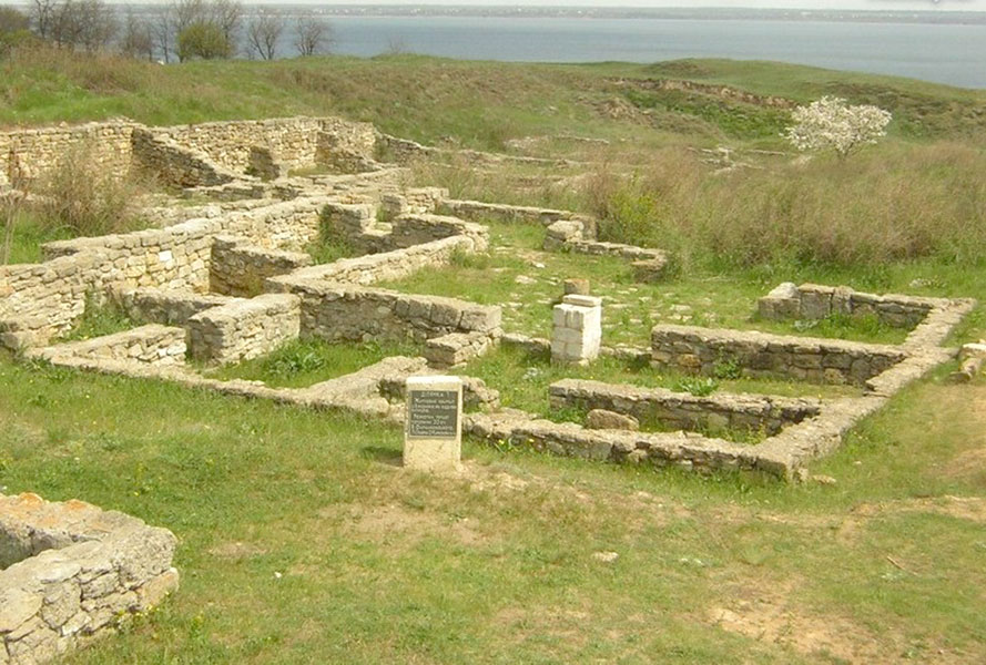 На территории древней Ольвии