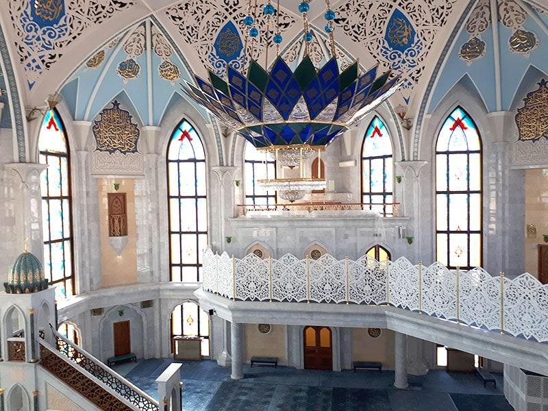 В мечети Кул-Шариф