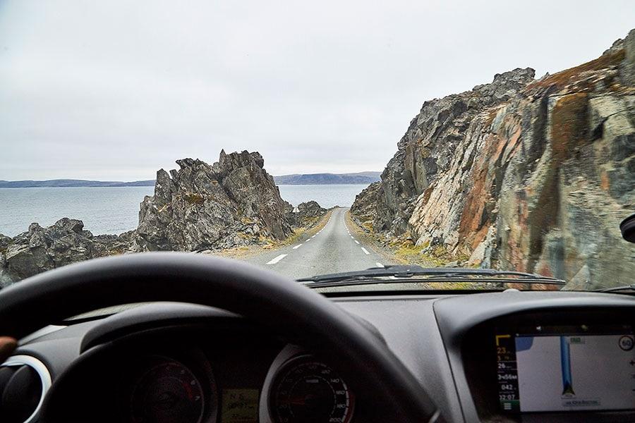 По дороге в Hamningberg