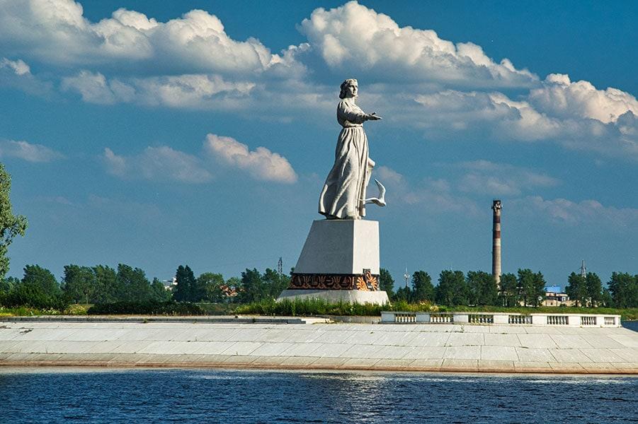 Монумент «Мать Волга»