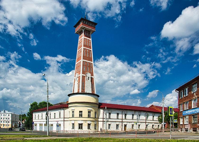Пожарная каланча в Рыбинске