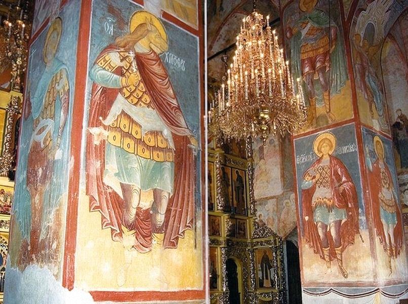 Фреска Св. Христофора