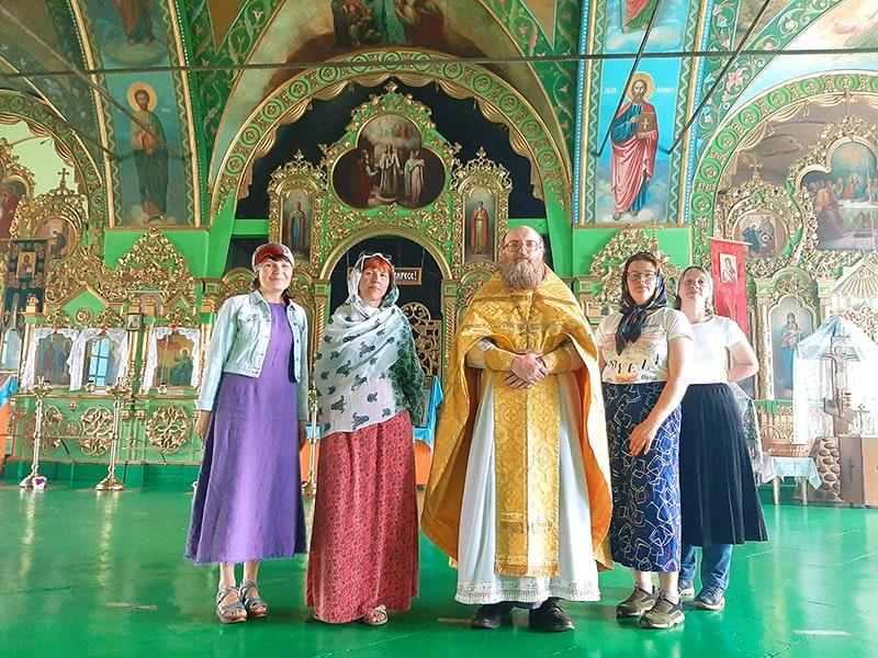 Церковь в селе Юрьево