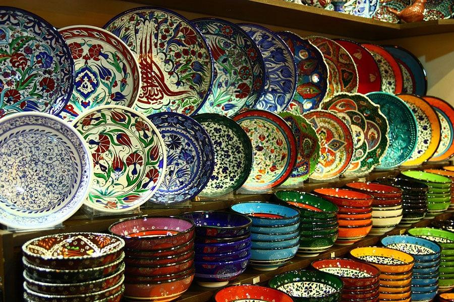 Посуда и керамика на Гранд Базаре