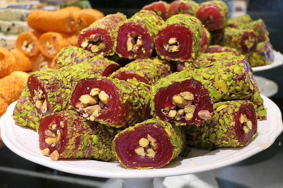 Турецкие сладости. Рахат-лукум