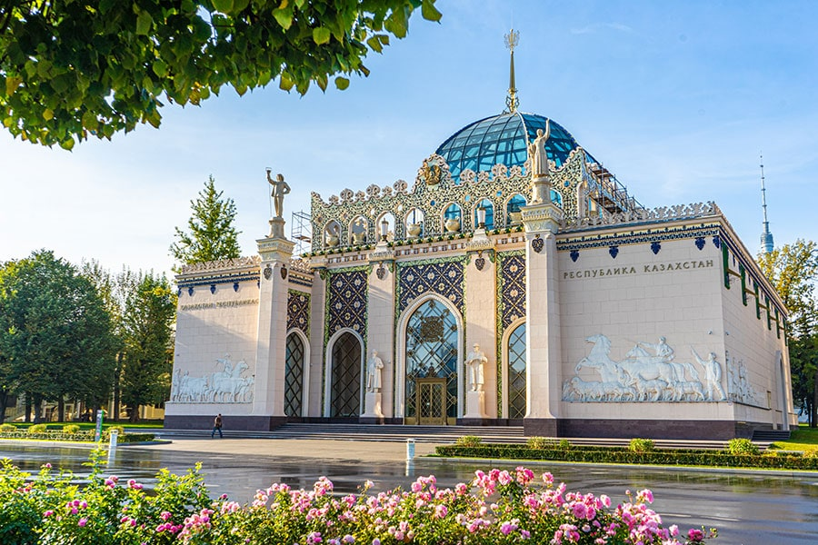 Павильон Казахстан