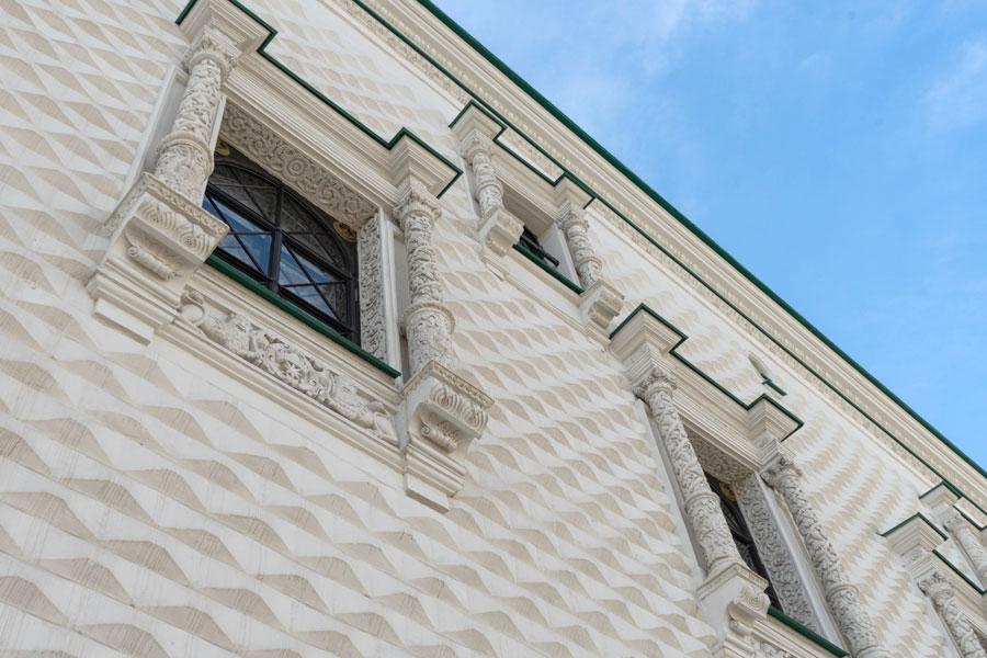 Фрагмент облицовки Грановитой палаты